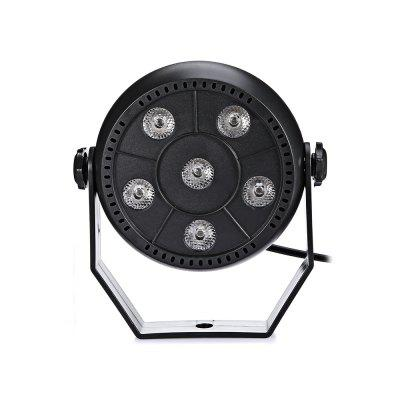9W 3 in 1 LED Stage LightStage Lighting<br>9W 3 in 1 LED Stage Light<br><br>Beam Distance (m): 12 - 18m<br>Body Color: Black, Black<br>Control Mode: Auto Mode, Voice-activated<br>Function: For party<br>Laser Color: Colorful<br>Material: Plastic, Plastic<br>Output Power (W): 9W<br>Package Contents: 1 x Light, 1 x Stand, 2 x Screw, 1 x Light, 1 x Stand, 2 x Screw<br>Package size (L x W x H): 13.00 x 13.00 x 9.00 cm / 5.12 x 5.12 x 3.54 inches, 13.00 x 13.00 x 9.00 cm / 5.12 x 5.12 x 3.54 inches<br>Package weight: 0.2800 kg, 0.2800 kg<br>Plug Type: EU plug<br>Product Size(L x W x H): 11.00 x 11.00 x 5.00 cm / 4.33 x 4.33 x 1.97 inches, 11.00 x 11.00 x 5.00 cm / 4.33 x 4.33 x 1.97 inches<br>Product weight: 0.1800 kg, 0.1800 kg<br>Shape: Ball Light<br>Type: RGB Stage Light<br>Voltage Type: AC 110 - 220V