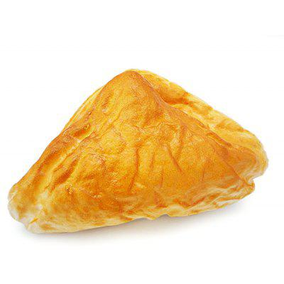Buy ORANGE Realistic Triangle Bread PU Foam Squishy Toy for $3.67 in GearBest store