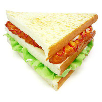 Buy COLORMIX Realistic Sandwich Soft PU Foam Squishy Toy for $5.42 in GearBest store
