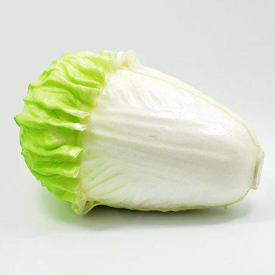 Realistic Chinese Cabbage PU Foam Squishy Toy