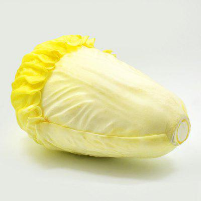 Buy YELLOW Realistic Chinese Cabbage PU Foam Squishy Toy for $5.49 in GearBest store