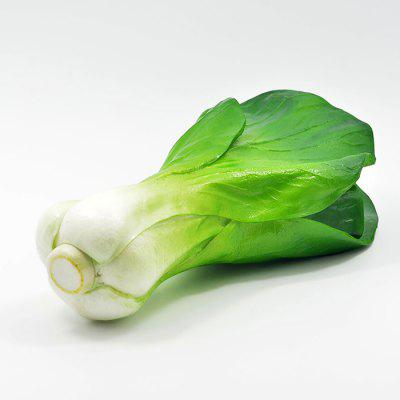 Buy GREEN Realistic Shanghai Bok Choy PU Foam Squishy Toy for $5.05 in GearBest store