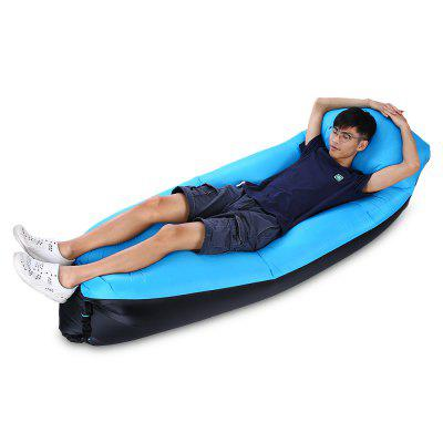 Portable Water-resistant 200kg Loading Fast Inflatable Bed SofaHammock and Sleeping Bags<br>Portable Water-resistant 200kg Loading Fast Inflatable Bed Sofa<br><br>Best Use: Backpacking,Camping,Casual,Noon break,Travel<br>Features: Comfortable, Durable, Easy to Carry, Inflatable, Ultralight<br>Package Contents: 1 x Inflatable Bed, 1 x Storage Pouch<br>Package Dimension: 34.50 x 18.50 x 11.50 cm / 13.58 x 7.28 x 4.53 inches<br>Package weight: 0.8750 kg<br>Product Dimension: 210.00 x 50.00 x 45.00 cm / 82.68 x 19.69 x 17.72 inches<br>Product weight: 0.8250 kg<br>Season: 4 Seasons<br>Suitable for: 1 Person<br>Type: Bed