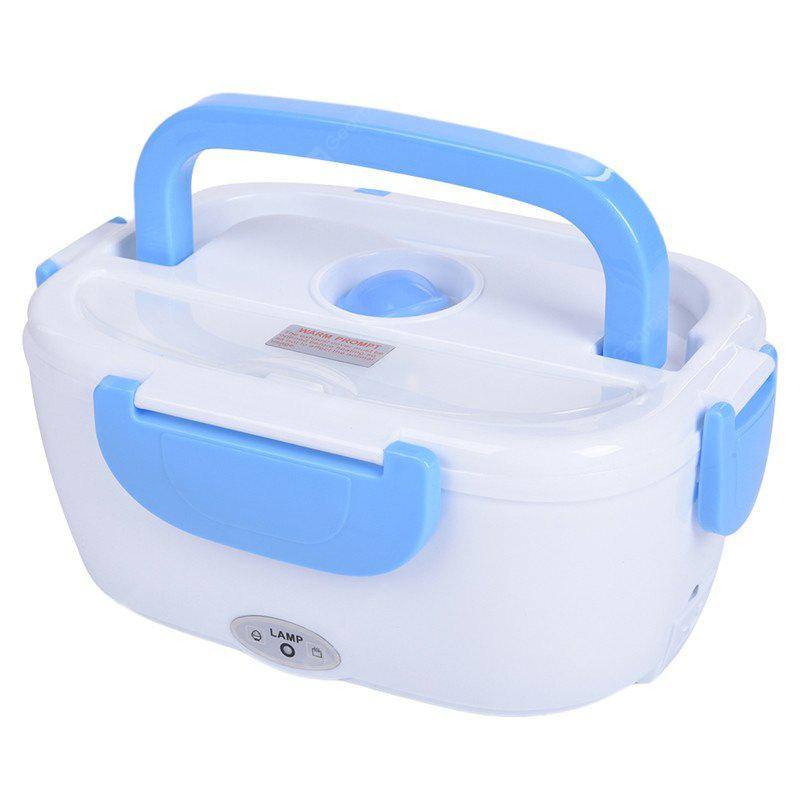 BLUE 12V Car Electronic Heated Food Container