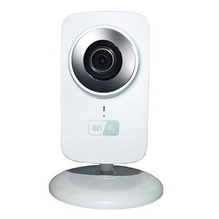 WHITE Mini WiFi IP Camera