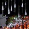 10PCS 0.3m Meteor Shower Rain LED Lights Tubes - WHITE