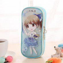 Aquarius Pattern High Capacity Storage Stationery Pen Bag