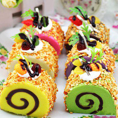 Beautiful Realistic Swiss Roll PU Foam Squishy Toy от GearBest.com INT