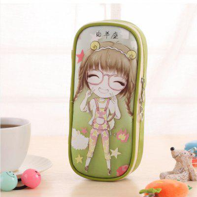 Aries Pattern High Capacity Storage Stationery Pen Bag