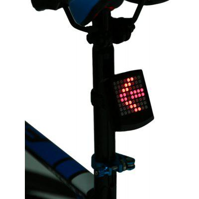 64 LED Kablosuz Uzaktan Kumandayla Bike Tail Turn Light