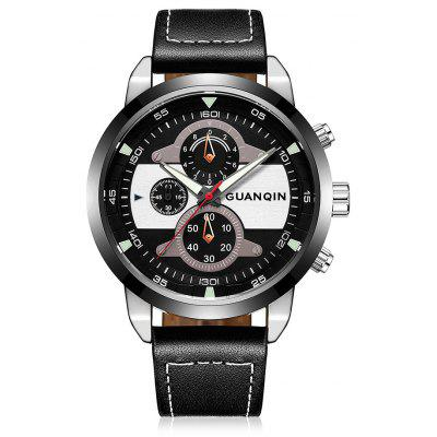 GUANQIN GS19078 Men Fashion Quartz Watch