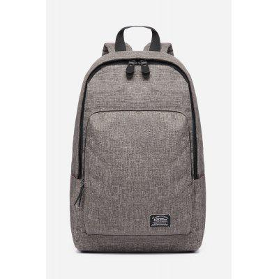 Buy KHAKI 19L Water-resistant Trendy Backpack for Men for $27.60 in GearBest store
