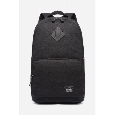 Buy BLACK 17L Water-resistant Trendy Backpack for Men for $27.60 in GearBest store