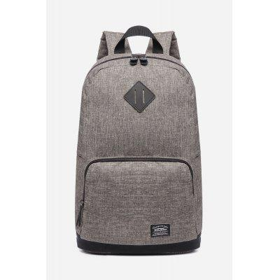 Buy KHAKI 17L Water-resistant Trendy Backpack for Men for $27.60 in GearBest store
