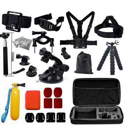 Buy BLACK Action Camera Accessory Kit for $32.89 in GearBest store
