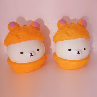Buy COLORMIX Cartoon Baby Bear Soft PU Foam Squishy Toy 1pc for $4.68 in GearBest store