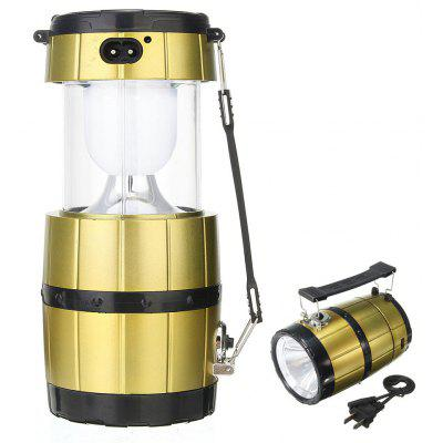 Stretchy Camping Solar Lantern Torch Flashlight Lamp
