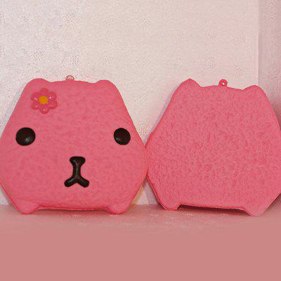 Buy RED Cartoon Rabbit Bread Soft PU Foam Squishy Toy 1pc for $3.25 in GearBest store