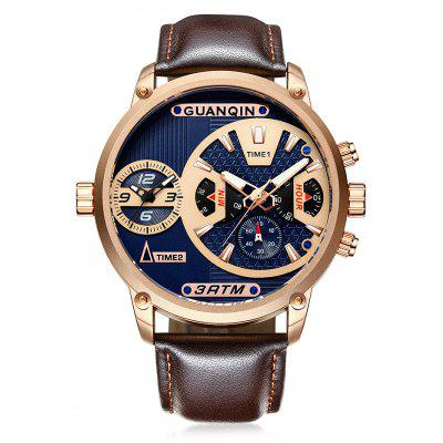 GUANQIN GS19076 Men Fashion Quartz Watch