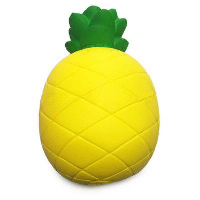 Light Color Pineapple Soft PU Foam Squishy Toy