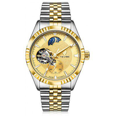 Buy GOLDEN TEVISE 629B Luminous Men Auto Mechanical Watch for $36.08 in GearBest store