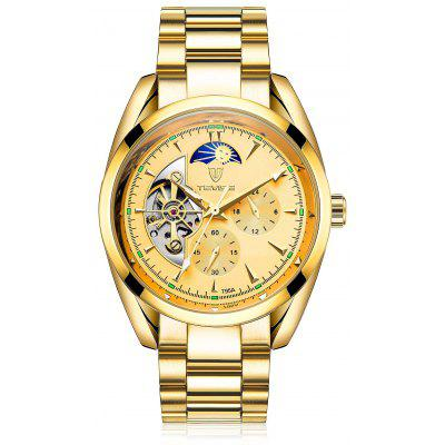 Buy GOLDEN TEVISE 795A Luminous Men Auto Mechanical Watch for $34.86 in GearBest store