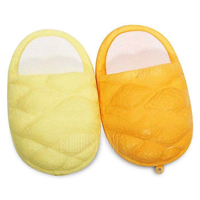 Cartoon Cotton Slipper PU Foam Jumbo Squishy Toy 1pc