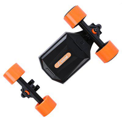 Landwheel L3 Remote Control 4-wheel Electric Skateboard DriveSkateboard<br>Landwheel L3 Remote Control 4-wheel Electric Skateboard Drive<br><br>Brand: Landwheel<br>Package Content: 1 x Landwheel L3 Electric Skateboard Drive, 1 x Front Wheel, 1 x Battery, 1 x Remote, 1 x Adapter, 1 x Plug, 1 x Charger, 1 x Battery Charger, 1 x Gasket, 2 x Spare Wheel, 1 x USB Cable, 1 x USB Exten<br>Package size: 63.00 x 36.00 x 14.00 cm / 24.8 x 14.17 x 5.51 inches<br>Package weight: 7.1500 kg<br>Product size: 32.90 x 23.50 x 10.50 cm / 12.95 x 9.25 x 4.13 inches<br>Product weight: 6.9000 kg<br>Type: Drive