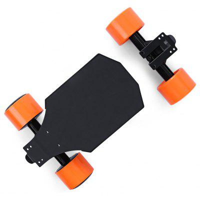 Buy BLACK AND ORANGE EU Landwheel L3 Remote Control 4-wheel Electric Skateboard Drive for $729.99 in GearBest store