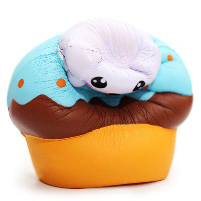 Cute Cartoon Puppy Puff PU Foam Squishy ToySquishy toys<br>Cute Cartoon Puppy Puff PU Foam Squishy Toy<br><br>Materials: PU<br>Package Content: 1 x Squishy Toy<br>Package Dimension: 12.00 x 12.00 x 13.00 cm / 4.72 x 4.72 x 5.12 inches<br>Package Weights: 80g<br>Pattern Type: Cake<br>Product Dimension: 10.50 x 10.50 x 11.00 cm / 4.13 x 4.13 x 4.33 inches<br>Product Weights: 55g<br>Products Type: Squishy Toy<br>Use: Home Decoration, Art &amp; Collectible
