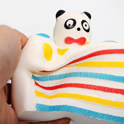 Triangle Panda Cake PU Foam Squishy Toy ваза подвесная triangle