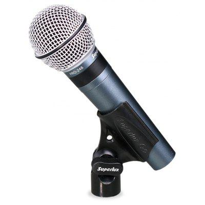 Superlux PRO248 Microphone Dynamique de Vocal Professionnel