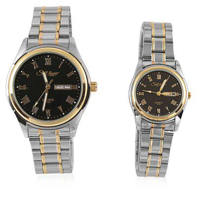 SELF LOVERS L1004 Couple Watches