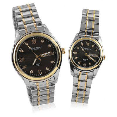 SELF LOVER L1003 Couple Watches