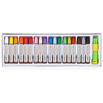 Deli 72051 18 Colors Oil Pastels for Painting