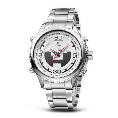 WEIDE WH6306 2-movt Men Fashion Watch