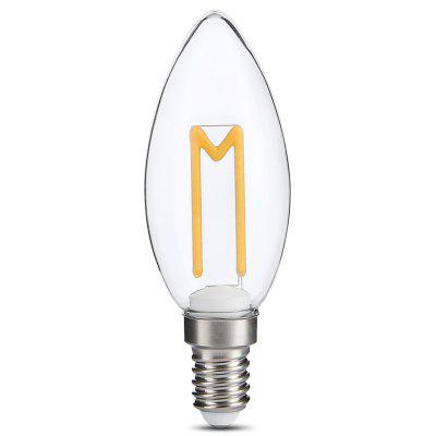 Buy WARM WHITE LIGHT E14 3W 300LM Retro LED Bulb for $2.71 in GearBest store