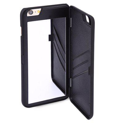 FLOVEME Wallet Case Phone Protector for iPhone 6 / 6siPhone Cases/Covers<br>FLOVEME Wallet Case Phone Protector for iPhone 6 / 6s<br><br>Brand: FLOVEME<br>Compatible for Apple: iPhone 6, iPhone 6S<br>Features: With Mirror, With Credit Card Holder, Cases with Stand, Back Cover, Anti-knock<br>Material: PU Leather<br>Package Contents: 1 x Phone Protector<br>Package size (L x W x H): 6.70 x 0.71 x 13.80 cm / 2.64 x 0.28 x 5.43 inches<br>Package weight: 0.0350 kg<br>Product size (L x W x H): 6.70 x 0.71 x 13.80 cm / 2.64 x 0.28 x 5.43 inches<br>Product weight: 0.0250 kg<br>Style: Solid Color