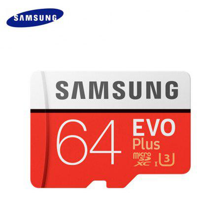 Gearbest Original Samsung UHS-3 64GB Micro SDXC Memory Card  -  64GB  ORANGE