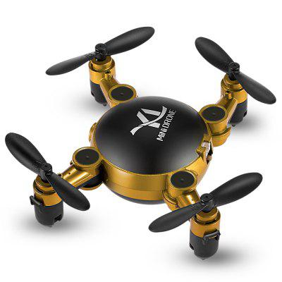 YI LE TOYS S18 Mini Foldable RC Quadcopter - RTFRC Quadcopters<br>YI LE TOYS S18 Mini Foldable RC Quadcopter - RTF<br><br>Age: Above 14 years old<br>Battery: 3.7V 220mAh LiPo<br>Built-in Gyro: 6 Axis Gyro<br>Camera Pixels: 0.3MP<br>Channel: 4-Channels<br>Charging Time.: 45mins<br>Compatible with Additional Gimbal: No<br>Control Distance: 50-100m<br>Detailed Control Distance: 80M<br>Features: Radio Control, WiFi FPV, WiFi APP Control, Camera, Brushed Version<br>Flying Time: 8~9mins<br>FPV Distance: 20m<br>Functions: Sideward flight, Gravity Sense Control, Headless Mode, One Key Automatic Return, Speed up, 3D rollover, One Key Landing, Forward/backward, Voice control, Slow down, Up/down, One Key Taking Off<br>Kit Types: RTF<br>Level: Beginner Level<br>Material: Electronic Components, ABS/PS<br>Model: S18<br>Model Power: Built-in rechargeable battery<br>Motor Type: Brushed Motor<br>Package Contents: 1 x Quadcopter ( Battery Included ), 1 x Transmitter, 1 x Mobile Phone Holder, 1 x Screwdriver, 1 x Wrench, 4 x Propeller Guard, 4 x Spare Propeller, 1 x USB Cable, 1 x Set of Chinese-English Manuals<br>Package size (L x W x H): 25.80 x 6.80 x 17.00 cm / 10.16 x 2.68 x 6.69 inches<br>Package weight: 0.4140 kg<br>Product weight: 0.0260 kg<br>Radio Mode: Mode 2 (Left-hand Throttle),WiFi APP<br>Remote Control: 2.4GHz Wireless Remote Control<br>Sensor: Barometer<br>Size: Micro<br>Transmitter Power: 4 x AAA battery (not included)<br>Type: Quadcopter, Indoor