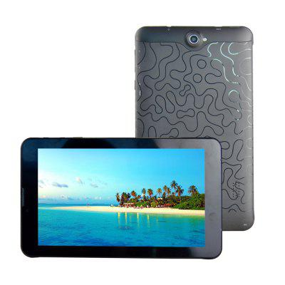 Veidoo V706 - M4W 7.0 inch 3G PhabletTablet PCs<br>Veidoo V706 - M4W 7.0 inch 3G Phablet<br><br>2G: GSM 850/900/1800/1900MHz<br>3.5mm Headphone Jack: Yes<br>3G: WCDMA 850/1900/2100MHz<br>AC adapter: 100-240V 5V 2A<br>Additional Features: Alarm, Bluetooth, Browser, 3G, Calculator, Calendar, FM, GPS, MP3, Phone, OTA, OTG, People, WiFi<br>Back camera: 2.0MP (with flash light)<br>Battery Capacity: 3.7V / 2500mAh<br>Bluetooth: 4.0<br>Brand: Veidoo<br>Camera type: Dual cameras (one front one back)<br>Core: 1.3GHz, Quad Core<br>CPU: MTK8321<br>CPU Brand: MTK<br>English Manual: 1<br>External Memory: TF card up to 32GB (not included)<br>Front camera: 0.3MP<br>G-sensor: Supported<br>Google Play Store: Supported<br>GPS: Yes<br>GPU: Mali-400<br>Languages support: Supports multi-language as screenshots<br>Material of back cover: Plastic<br>MIC: Supported<br>Micro USB Slot: Yes<br>MS Office format: Word, PPT, Excel<br>Music format: MP3, WMA, OGG, AAC<br>Network type: GSM,WCDMA<br>OS: Android 6.0<br>OTG Cable: 1<br>Package size: 23.50 x 16.00 x 6.00 cm / 9.25 x 6.3 x 2.36 inches<br>Package weight: 0.6500 kg<br>Picture format: BMP, GIF, PNG, JPEG<br>Power Adapter: 1<br>Product size: 18.80 x 10.70 x 1.08 cm / 7.4 x 4.21 x 0.43 inches<br>Product weight: 0.2790 kg<br>RAM: 1GB<br>ROM: 8GB<br>Screen resolution: 1024 x 600 (WSVGA)<br>Screen size: 7 inch<br>Screen type: Capacitive<br>SIM Card Slot: Dual SIM, Dual Standby, Yes (2 x Standard SIM Card Slot)<br>Skype: Supported<br>Speaker: Supported<br>Support Network: WiFi, Built-in 3G, 2G<br>Tablet PC: 1<br>TF card slot: Yes<br>Type: Phablet<br>USB Cable: 1<br>Video format: 3GP, MP4, AVI, H.265, H.264, WMV, VP9, MPEG4<br>WIFI: 802.11b/g/n wireless internet<br>Youtube: Supported