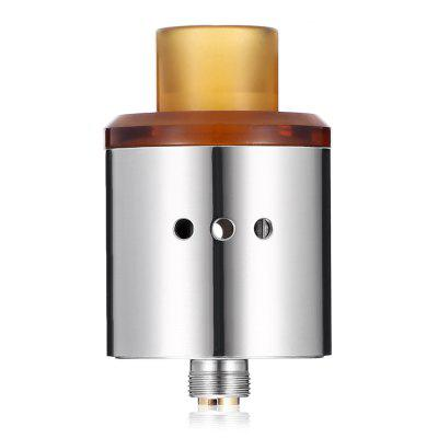 Original VAPJOY HITMAN RDARebuildable Atomizers<br>Original VAPJOY HITMAN RDA<br><br>Material: Stainless Steel<br>Package Contents: 1 x Atomizer, 2 x Screw, 1 x Leather Bag, 1 x Heating Wire, 3 x Insulated Ring, 1 x T-shape Screwdriver<br>Package size (L x W x H): 8.00 x 6.20 x 3.00 cm / 3.15 x 2.44 x 1.18 inches<br>Package weight: 0.0800 kg<br>Product size (L x W x H): 4.00 x 2.40 x 2.40 cm / 1.57 x 0.94 x 0.94 inches<br>Product weight: 0.0460 kg<br>Rebuildable Atomizer: RBA,RDA<br>Thread: 510<br>Type: Rebuildable Drippers, Rebuildable Atomizer