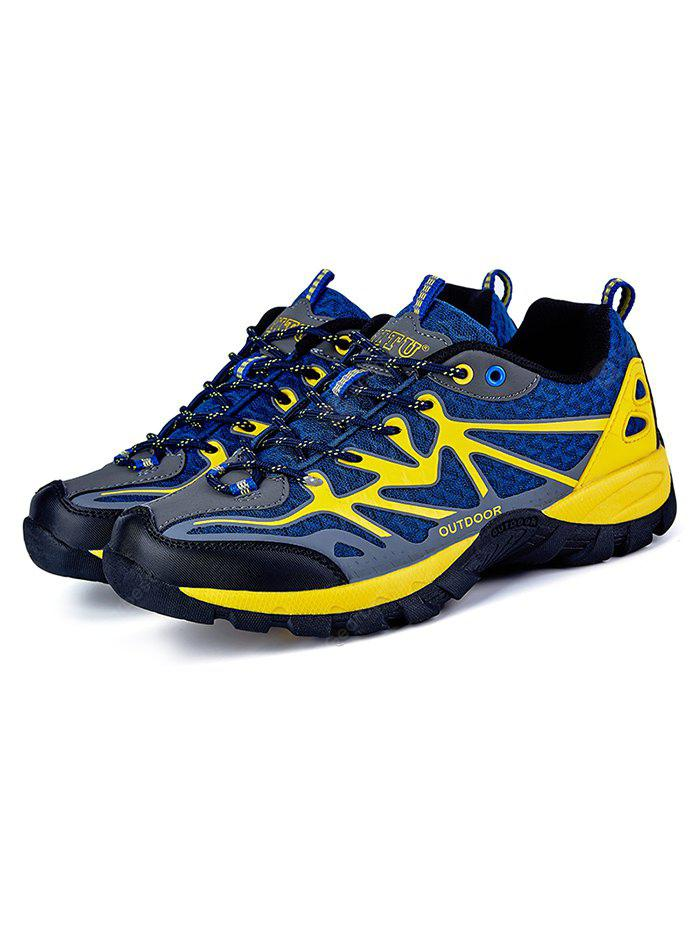 CERULEAN Men Comfortable Space PU Hiking Shoes
