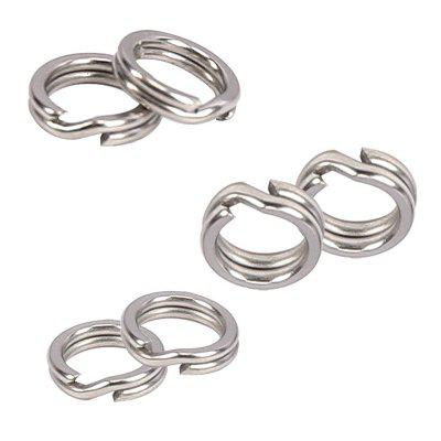 20PCS Stainless Steel Fishing Split Ring Hook Line ConnectorFishing Tools and Accessories<br>20PCS Stainless Steel Fishing Split Ring Hook Line Connector<br><br>Package Contents: 20 x Fishing Split Ring<br>Package size (L x W x H): 8.40 x 6.40 x 0.50 cm / 3.31 x 2.52 x 0.2 inches<br>Package weight: 0.1340 kg