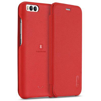 LENUO PU Leather Full Body Cover Phone Case Protector for Xiaomi Mi 6