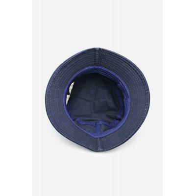 NAVY Embroidered Sun Protection Cotton Bucket HatHats<br>NAVY Embroidered Sun Protection Cotton Bucket Hat<br><br>Brim Width: 6cm<br>For: Traveling, Leisure, Hiking, Camping<br>Functions: Sun protection, Stylish, Decoration<br>Gender: Female<br>Hat Depth: 14cm<br>Package Contents: 1 x Hat<br>Package size (L x W x H): 6.00 x 6.00 x 14.00 cm / 2.36 x 2.36 x 5.51 inches<br>Package weight: 0.1300 kg<br>Product weight: 0.1000 kg<br>Size: One Size<br>Suit for head circumference: 56 - 58cm<br>Type: Hat