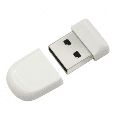 Buy WHITE 4G USB Flash Drive Memory Stick Storage Device Mini U Disk for $7.64 in GearBest store