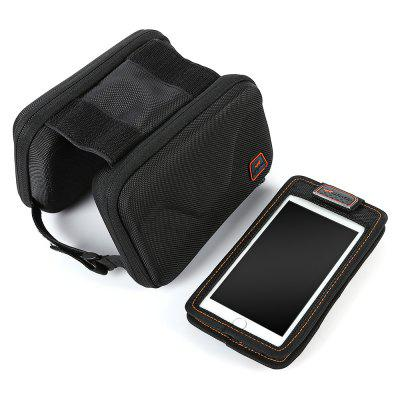 acacia Bike Front Tube BagBike Bags<br>acacia Bike Front Tube Bag<br><br>Brand: acacia<br>Emplacement: Front Tube<br>Package Contents: 1 x acacia Bike Front Tube Bag, 1 x Earphone Extending Cable, 1 x Arm Belt<br>Package Dimension: 20.00 x 14.00 x 17.00 cm / 7.87 x 5.51 x 6.69 inches<br>Package weight: 0.3400 kg<br>Product Dimension: 19.00 x 13.00 x 16.00 cm / 7.48 x 5.12 x 6.3 inches<br>Product weight: 0.3000 kg<br>Suitable for: Mountain Bicycle, Road Bike, Touring Bicycle, Fixed Gear Bicycle
