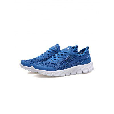 Men Breathable Mesh Athletic ShoesCasual Shoes<br>Men Breathable Mesh Athletic Shoes<br><br>Contents: 1 x Pair of Athletic Shoes, 1 x Pair of Athletic Shoes<br>Materials: Rubber, Microfiber<br>Occasion: Casual<br>Package Size ( L x W x H ): 33.00 x 22.00 x 11.00 cm / 12.99 x 8.66 x 4.33 inches, 33.00 x 22.00 x 11.00 cm / 12.99 x 8.66 x 4.33 inches<br>Package Weights: 0.560kg, 0.560kg<br>Seasons: Autumn,Spring,Summer<br>Style: Comfortable<br>Type: Casual Shoes