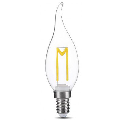 Buy COOL WHITE LIGHT E14 3W 300LM Retro LED Filament Lamp for $2.71 in GearBest store